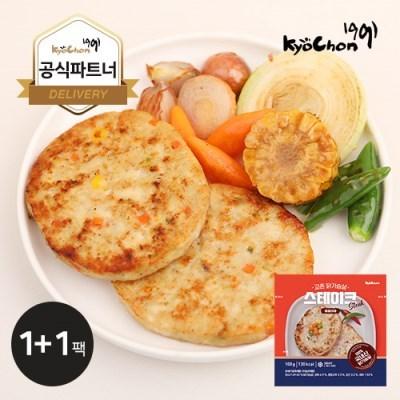 [교촌] 닭가슴살 원형 스테이크 (매콤야채) 100g 1+1