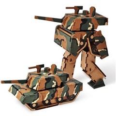 변신로봇 목재 입체퍼즐 - 영공방 K1전차