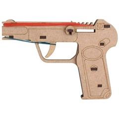 고무줄 총 목재 입체퍼즐 - 영공방 안중근 의사의 총