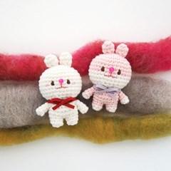 [손뜨개 DIY 키트] 꼬꼬마 코바늘 토끼 인형 만들기