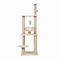 에코펫위드 고양이 캣타워 2단계용 137cm/C-15DB