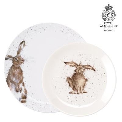 로얄우스터 워렌데일 토끼 접시세트(2P)