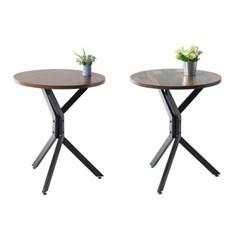 예쁜 엔틱 거실 입식 티테이블 카페 차테이블 2인 탁자 찻상