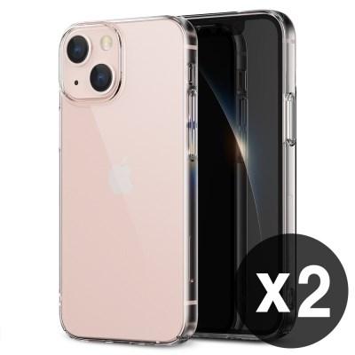 [1+1] 아이폰 전기종 에어로핏 핸드폰 슬림 하드 케이스