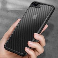 하푼 아이폰8+ 7플러스 카본 패턴 하이브리드 케이스