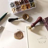 다꾸 편지꾸미기 실링왁스 도장 세트 ac-9281c