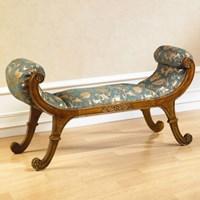 젠틱가구 플랑 엔틱 2인용 벤치 의자 보조의자 쇼파