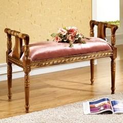 젠틱가구 링클 엔틱 2인용 벤치 의자 보조의자 쇼파