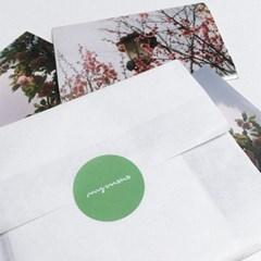 마이모노 봄꽃 스티커 세트