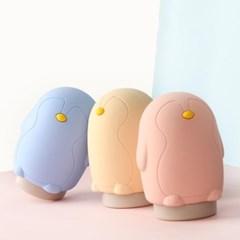 실리콘 토끼 펭귄 얼음주머니 냉온찜질 냉팩 보온팩