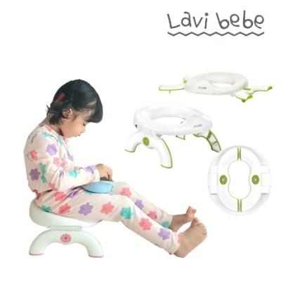 라비베베 2 in1 유아 휴대용변기 접이식 아기 변기커버 캠핑용변기