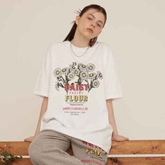 DAISE OVER FIT T-SHIRT WHITE