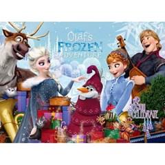 100피스 직소퍼즐 - 겨울왕국 크리스마스 (큰조각)