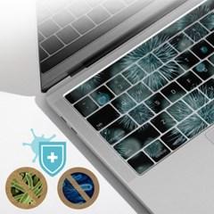 맥북 프로 2020년형 M1 CTO 512GB용 말싸미 항균키스킨_(3761402)