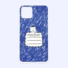 크레파스 컴포지션 젤리케이스 (블루)