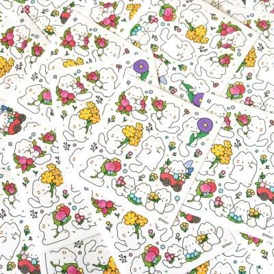 [마요] 들꽃마요 스티커