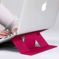 휴대용 태블릿거치대 노트북 맥북 전용스탠드
