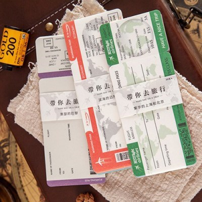 여행가고싶어 티켓메모(8종)