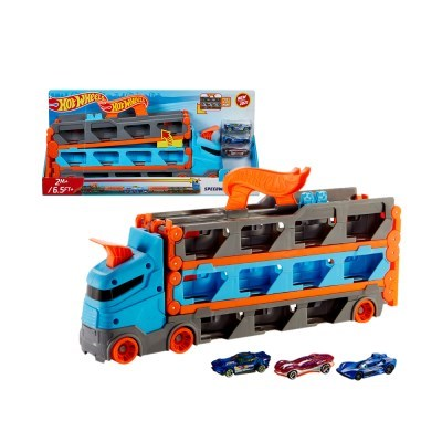 [핫휠] 2미터 레이싱트랙 변신 트럭_(1496700)