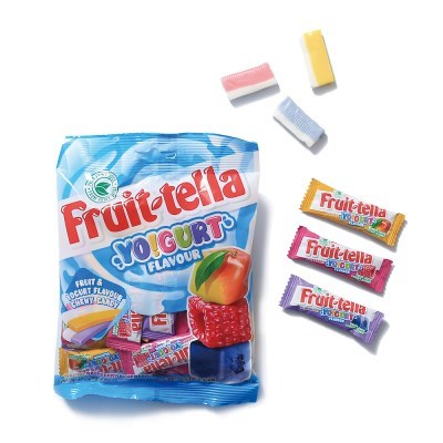 후르츠텔라 100g 5봉 요구르트 사탕 젤리 간식 선물