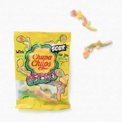 츄파춥스 젤리 사워게코(90g) 5봉 사탕 캔디 간식선물