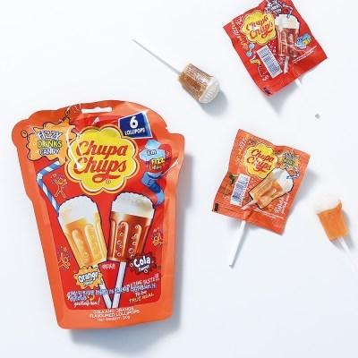 츄파춥스 피즈캔디(90g) 3봉 막대사탕 캔디 간식 선물