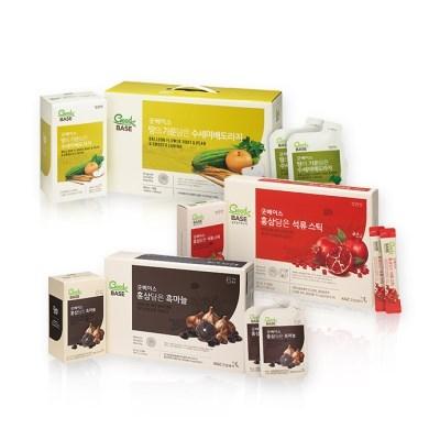 굿베이스 선물세트 (수세미배도라지30포+석류스틱30포+흑마늘30포)