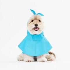 스니프 물텀벙 레인 코트 (블루)