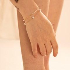 ARs20503_Heart n Link Bracelet Set