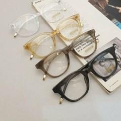뿔테 베이지 기본 가벼운 도수없는 데일리 패션 안경