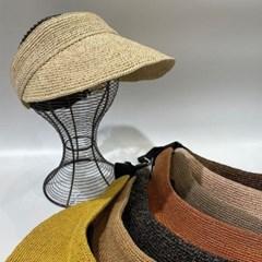 반짝이 지사 기본 챙넓은 데일리 꾸안꾸 썬캡 모자