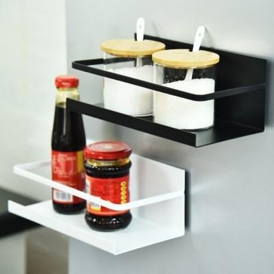 [1+1]공간 활용 냉장고 현관문 자석 선반 정리대 2color