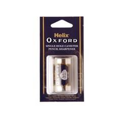 헬릭스 046020 옥스포드 원통형 연필깎이 1홀 학용품 문구