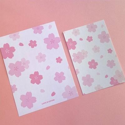 벚꽃, 체리 엽서