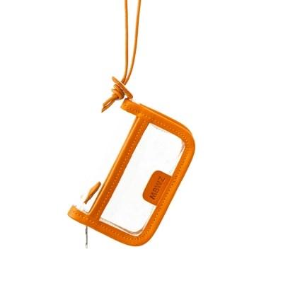 PVC WALLET - orange
