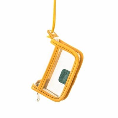 PVC WALLET - yellow