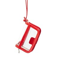 PVC WALLET - red