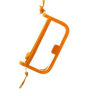 PVC POUCH - orange