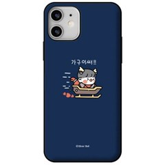 아이폰6플러스 뽀시래기 카드 도어 하드 케이스 KP031_(3770704)