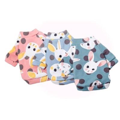 도그웨그 토끼 티셔츠 강아지 옷