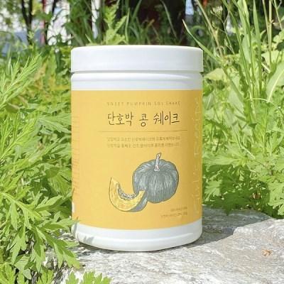 단호박 콩 쉐이크 식물성 단백질