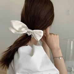 이베아 리본 고무줄  우아한 머리끈 헤어밴드_(2550710)