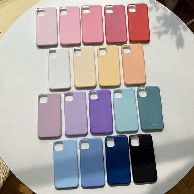 컬러풀 심플 이니셜 아이폰 갤럭시 하드 폰케이스
