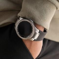 갤럭시워치 46mm 스트랩 시계줄 러버 ONE 프라임 밴드