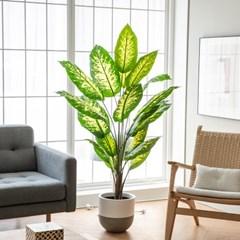 디펜바키아 조화나무 160cm 인테리어 대형 인조식물화분