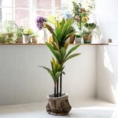 코르딜리네 조화나무 110cm 인테리어 대형 인조식물화분