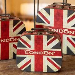 런던 트렁크 가방 3개 세트_(2177372)