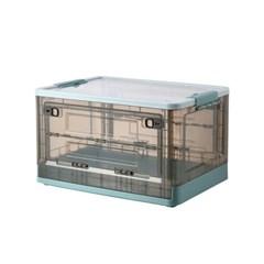 [1+1] 휴크래프트 앞문 오픈형 폴딩박스 수납정리함 리빙박스 50L