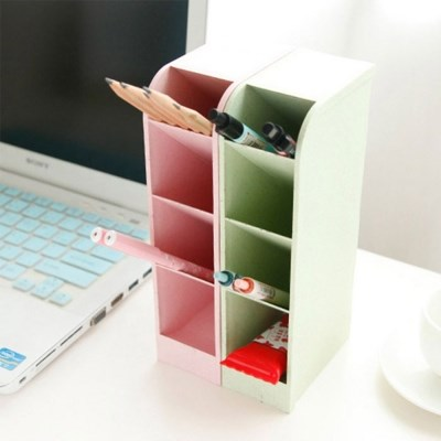 책상정리 데스크정리 깔끄미 컬러스토리지 4개세트