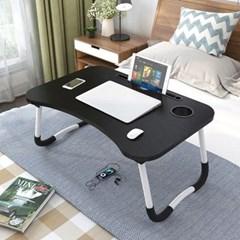 노트북 책상 좌석 접이식 미니 침대 베드 테이블 더쎈_(505470)